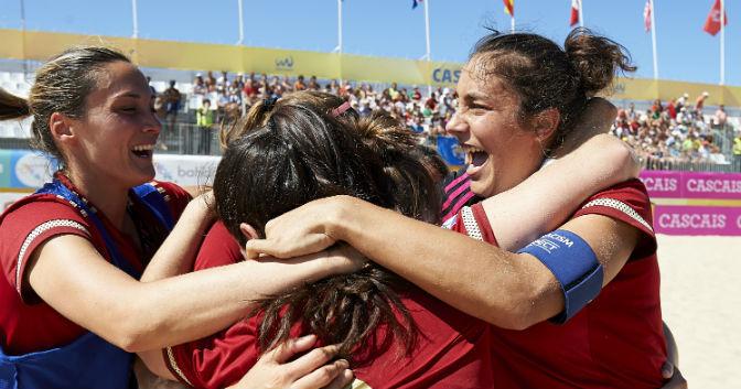 Nuevos exitos del deporte femenino español