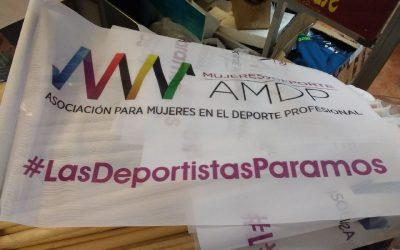 Deportistas y otras profesionales de la actividad física se citan para la Manifestación del 8-M