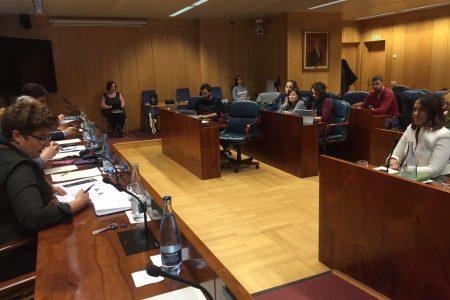 Primera Comparecencia en la Comisión Parlamentaria. Asamblea de Madrid.