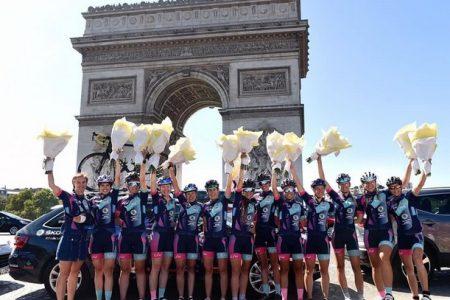 Las mujeres primero en el Tour… de la igualdad.