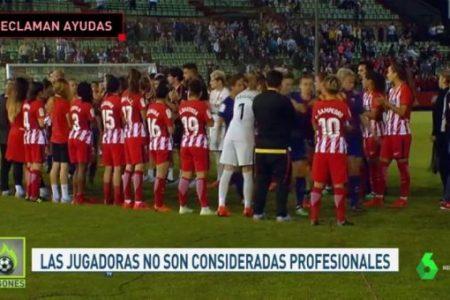 """La Sexta TV /El fútbol femenino denuncia las cláusulas anti embarazo: """"Los clubes comparan embarazo con dopaje"""""""