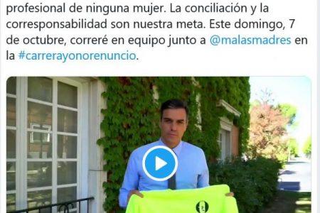 La respuesta al Presidente Pedro Sánchez sobre la maternidad y las deportistas