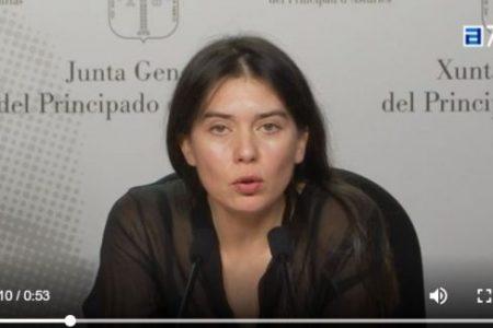 PODEMOS Asturias presenta una PNL para que se regule la igualdad de género en las informaciones deportivas.