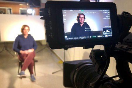 Rodamos para «Sense Ficció» Pilar Calvo en el nuevo documental de Laia Mestre