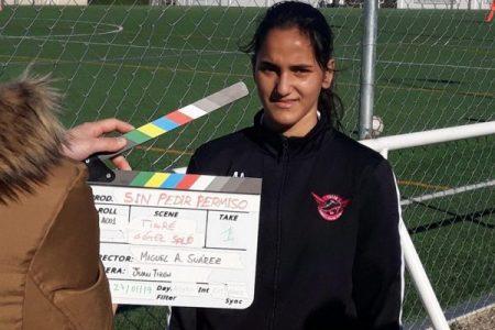 Sr Paraguas y Miguel Angel Suárez graban un documental de mujeres en el deporte