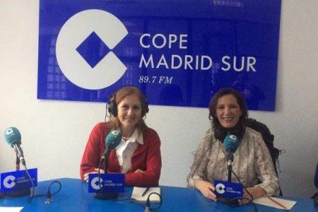 Cope Madrid Sur. Clara Sainz de Baranda habla del trabajo de la AMDP por el Premio Nacional 8 de Marzo.