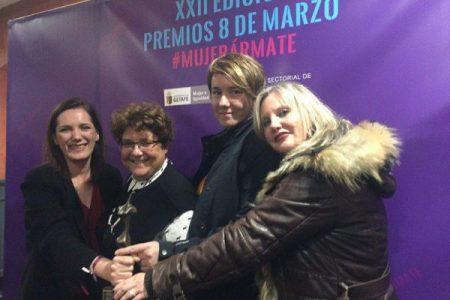 AMDP Premio Nacional 8 de Marzo por el Ayuntamiento de Getafe