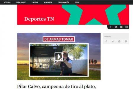 TELEMADRID. Pilar Calvo, campeona de tiro al plato, todo un ejemplo