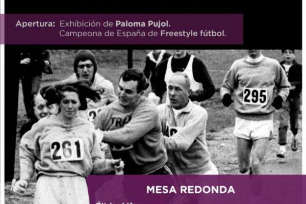 Jornada. Mujer Deportista una carrera del obstáculos. Clara Sainz de Baranda