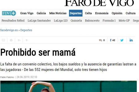 Faro de Vigo. Prohibido ser mamá
