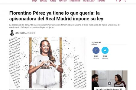 La república Esportiva. Hablamos sobre el nuevo equipo femenino del Real Madrid.
