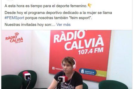 Radio Calvià. Cuando las federaciones no están a la altura de las deportistas. Pilar Calvo