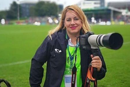 El ojo femenino en la fotografía deportiva. Luz Fierro
