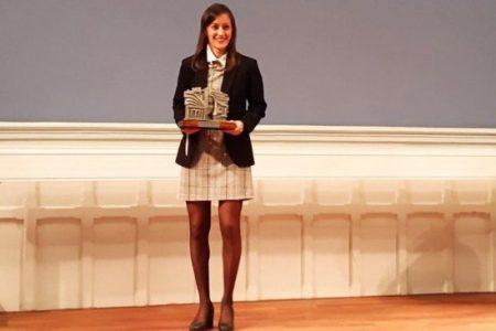 Premio Mujeres Progresistas en Deporte femenino a Guadalupe Porras Ayuso