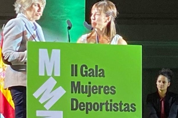 AMDP en la II Gala Mujer y Deporte de Madrid. #Poderosas