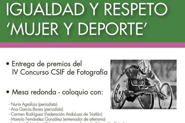 Encuentro Igualdad y Respeto «Mujer y Deporte». Carolina de Pando