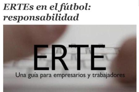 ERTEs en el fútbol: responsabilidad. María José López