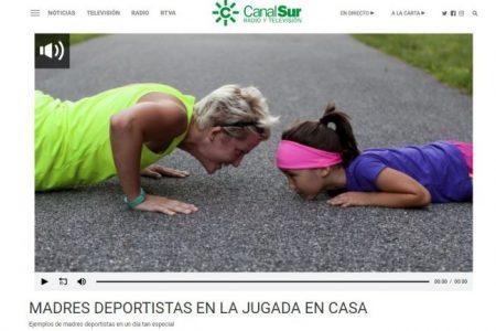 Canal Sur Radio. MADRES DEPORTISTAS EN LA JUGADA EN CASA. PILAR CALVO
