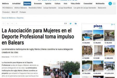 La Asociación para Mujeres en el Deporte Profesional toma impulso en Baleares