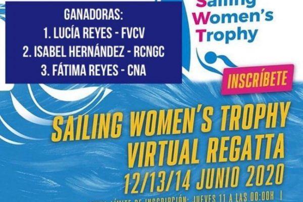 Ya tenemos ganadoras de la primera regata virtual femenina!