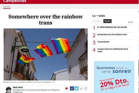 El Correo. Somewhere over the rainbow trans. Mar Mas