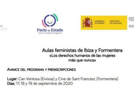 IB DONA. Aulas feministas de Ibiza y Formentera «Los derechos humanos de las mujeres más que nunca»