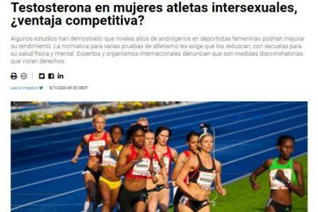 SINC. Testosterona en mujeres atletas intersexuales, ¿ventaja competitiva?