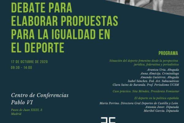 Jornada para elaborar PROPUESTAS para la Igualdad en el Deporte