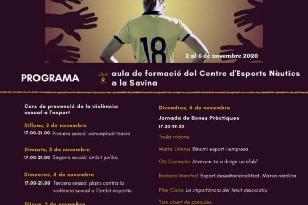 Espai Dones. Curso de Prevención de delitos sexuales en el deporte. Pilar Calvo