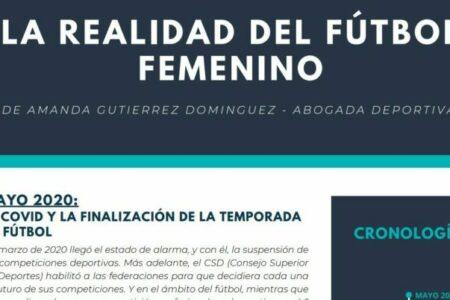 La realidad del fútbol femenino hoy. Amanda Gutierrez