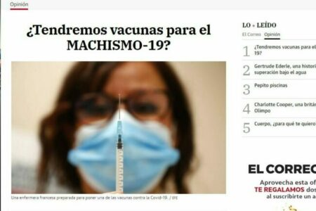 El Correo. ¿Tendremos vacunas para el MACHISMO-19?