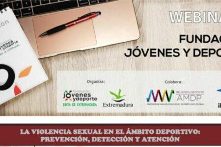 Webinar LA VIOLENCIA SEXUAL EN EL ÁMBITO DEPORTIVO. Fundación JxD