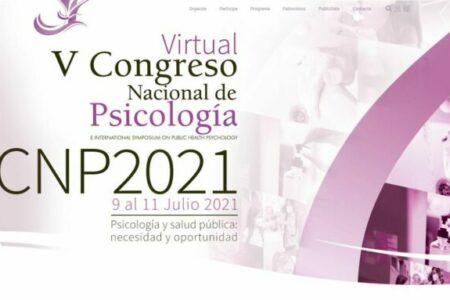 V Congreso Virtual Nacional de Psicología. 9-11 julio 2021