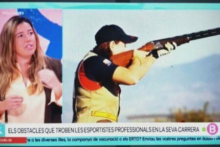 IB3 Presentación de Diagnóstico de la situación de la mujer en el deporte Balear. Marta Lliteras